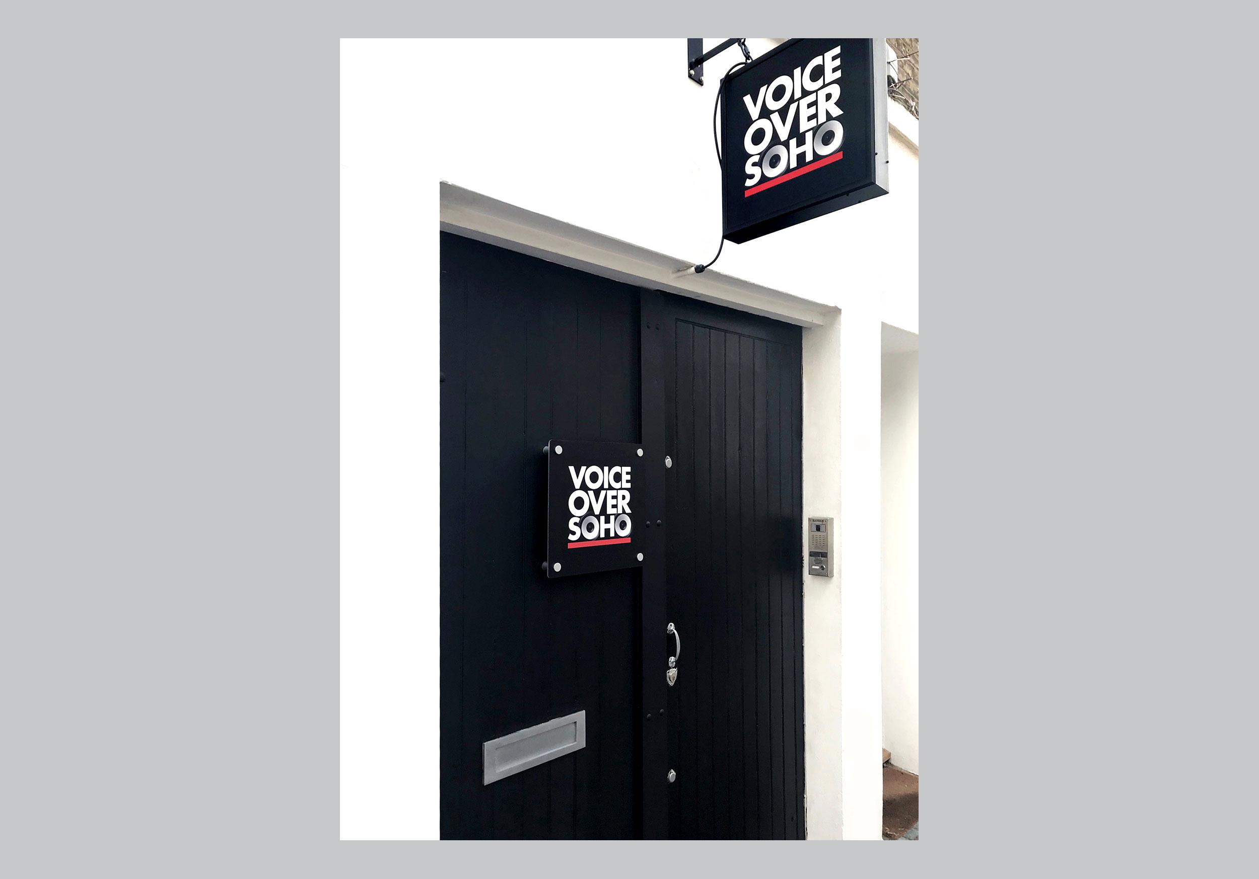 We are Noisy - Voiceover Soho - 05A-Door