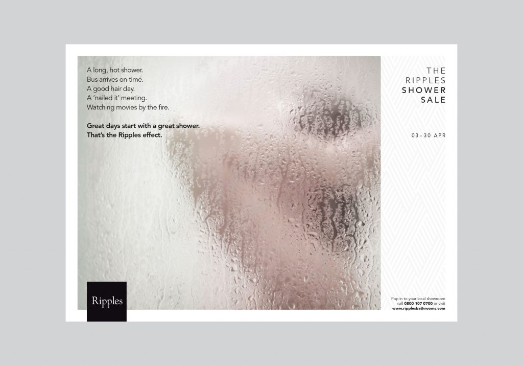 We are Noisy - Ripples - ShowerSale1